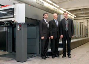 8-ių spalvų spausdinimo mašina Heidelberg 102-8P