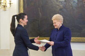 LR Prezidentės D. Grybauskaitės padėka BALTO print už aktyvų prisidėjimą prie akcijos  įgyvendinimo