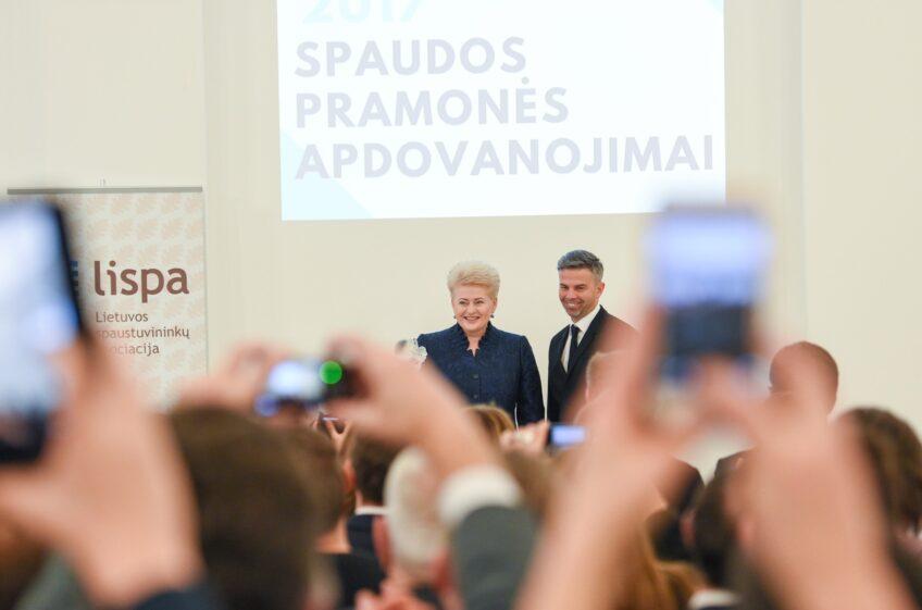 Jubiliejiniai spaudos pramonės apdovanojimai