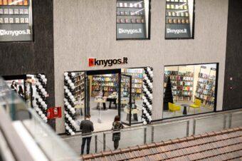 """Sparti """"Knygos.lt"""" plėtra: atidaro trečiąjį knygyną Lietuvoje ir pirmąjį Kaune, """"Akropolyje"""""""